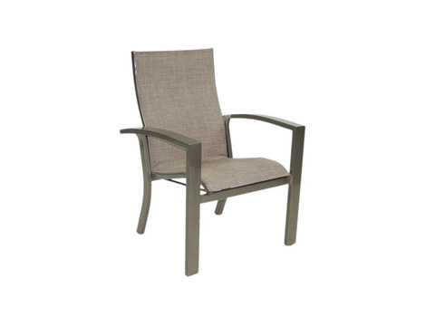 Castelle - Orion Stackable Sling Dining Chair - 1075S