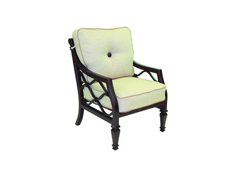 Image of Villa Bianca Cushioned Lounge Dining Chair