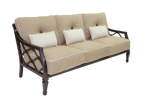Image of Villa Bianca Cushioned Sofa