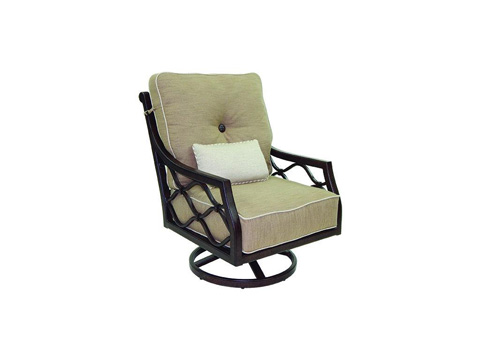 Image of Villa Bianca Cushioned Lounge Swivel Rocker