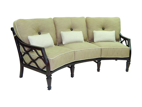 Image of Villa Bianca Crescent Sofa