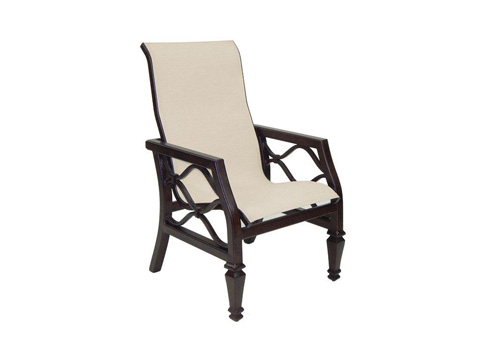 Castelle - Villa Bianca Sling Dining Chair - 1196S