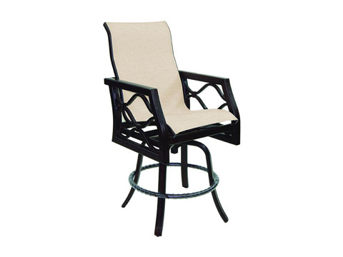 Image of Villa Bianca High Back Sling Counter Stool