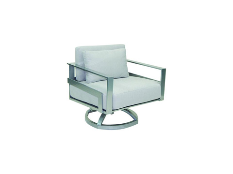 Image of Eclipse Cushioned Lounge Swivel Rocker