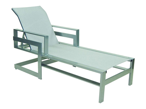 Image of Eclipse Adjustable Sling Chaise Lounge