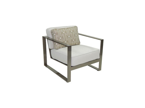 Image of Park Place Cushioned Lounge Chair