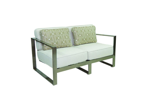 Image of Park Place Cushioned Loveseat