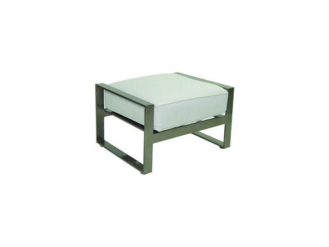 Image of Park Place Cushioned Ottoman