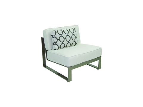 Image of Park Place Sectional Armless Lounge Chair