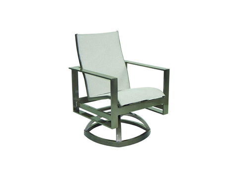Image of Park Place Sling Swivel Rocker
