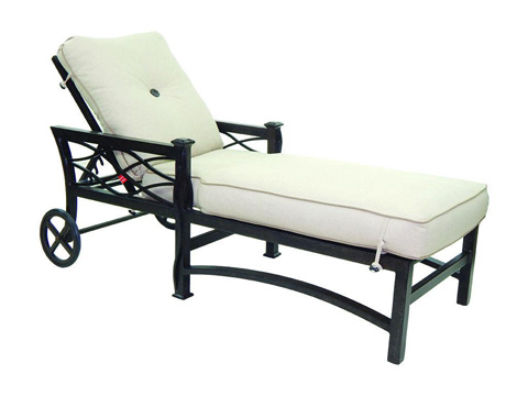 Image of La Reserve Cushioned Chaise Lounge