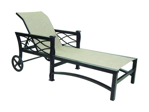 Image of La Reserve Adjustable Sling Chaise Lounge