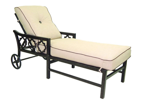 Castelle - Belle Epoque Adjustable Cushioned Chaise Lounge - 2912T
