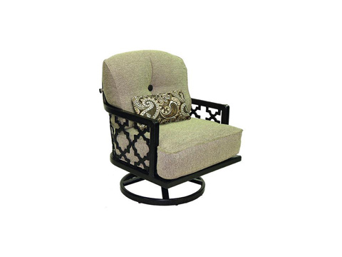 Image of Belle Epoque Cushioned Lounge Swivel Rocker