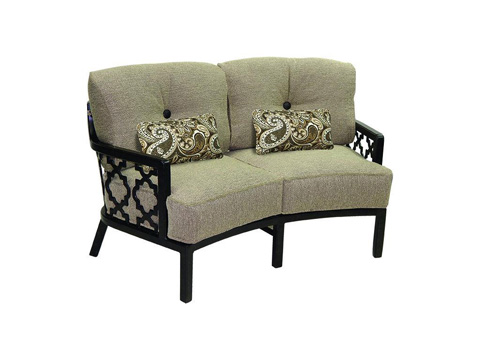 Image of Belle Epoque Crescent Loveseat