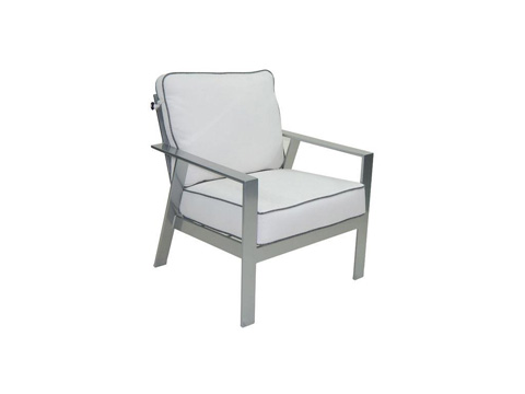 Image of Trento Cushioned Lounge Chair