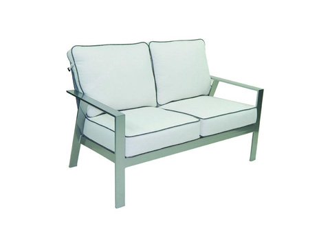 Image of Trento Cushioned Loveseat