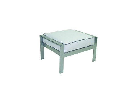 Image of Trento Cushioned Ottoman