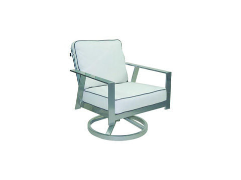 Castelle - Trento Cushioned Lounge Swivel Rocker - 3135T