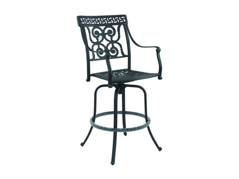 Image of Heritage Cast Swivel Barstool