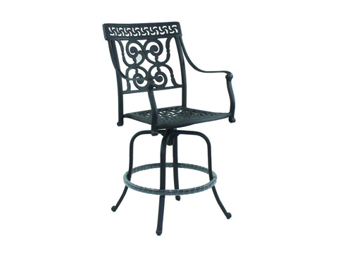 Image of Heritage Cast Swivel Counter Stool
