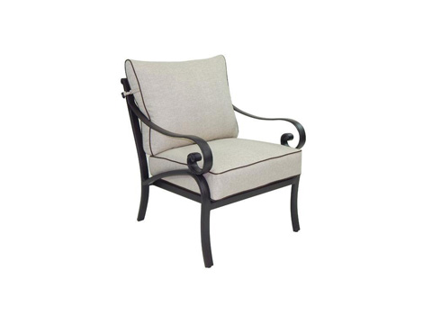 Image of Heritage Cushioned Lounge Chair