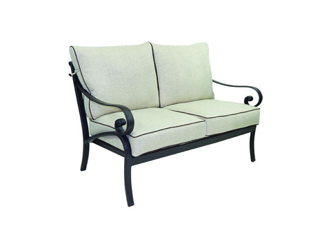 Image of Heritage Cushioned Loveseat