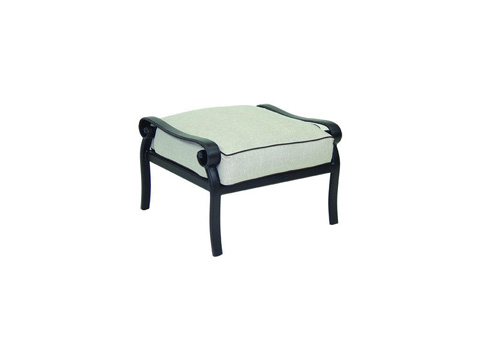 Image of Heritage Cushioned Ottoman