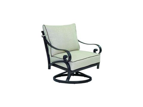 Image of Heritage Cushioned Lounge Swivel Rocker