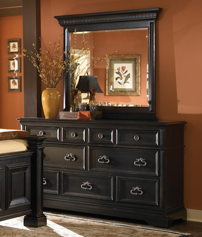 Pulaski - Brookfield Dresser with Mirror - 993100/993110