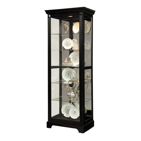 Pulaski - Brookview Two Way Sliding Door Curio - 21459