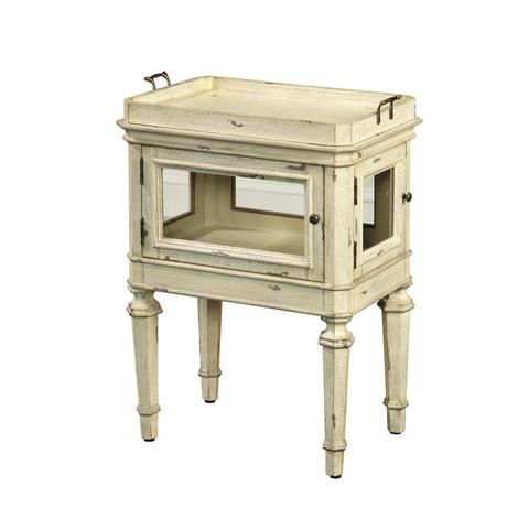 Pulaski - Pantinblanc Vitrine Table - 641066