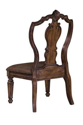 Pulaski - San Mateo Carved Back Side Chair - 662270