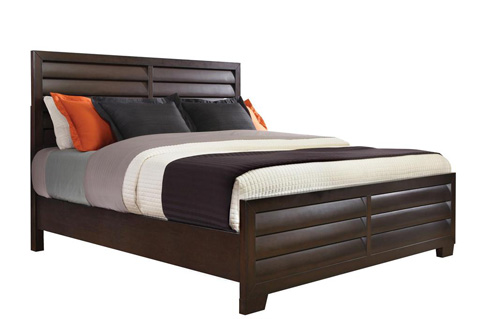 Image of Sable King Panel Complete Bed