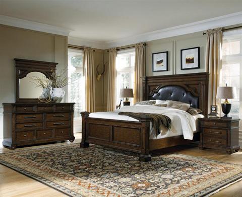 Pulaski - Durango Ridge King Button Tufted Bed - 673180 BED