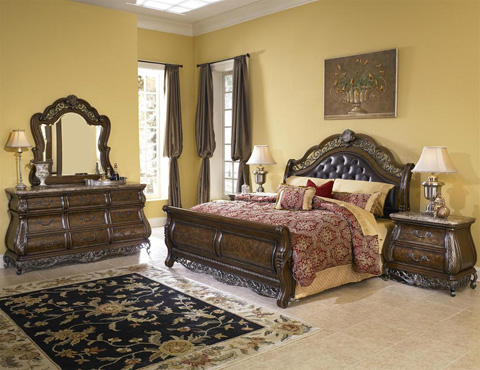 Image of Birkhaven King Sleigh Bed