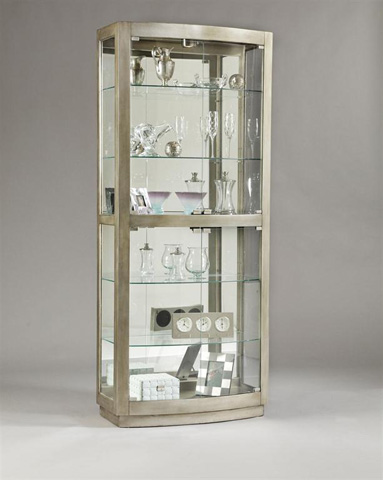 Pulaski - Glass Door Curio - 21396