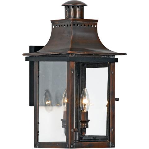 Quoizel - Chalmers Outdoor Lantern - CM8410AC