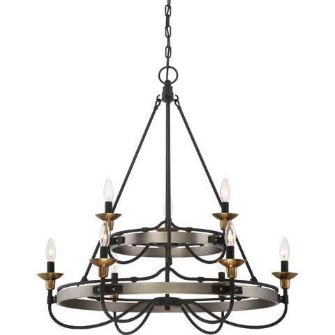 Quoizel - Castle Hill Foyer Piece - CTH5009AN