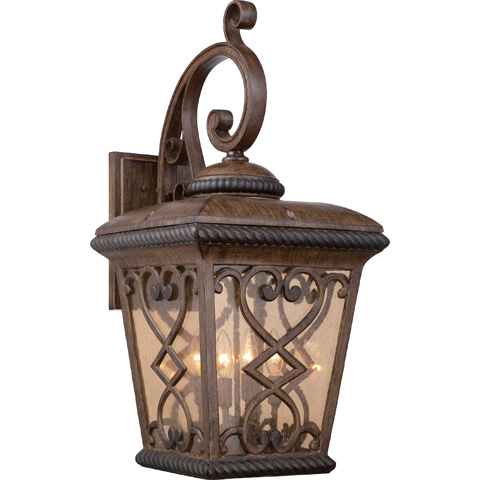 Quoizel - Fort Quinn Outdoor Lantern - FQ8414AW