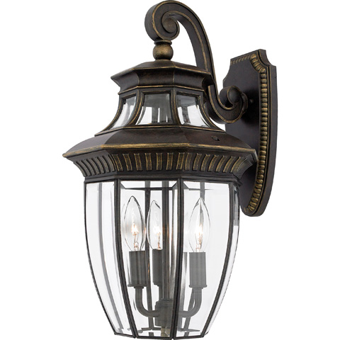 Quoizel - Georgetown Outdoor Lantern - GT8981IB