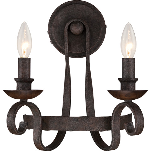 Quoizel - Noble Wall Sconce - NBE8702RK