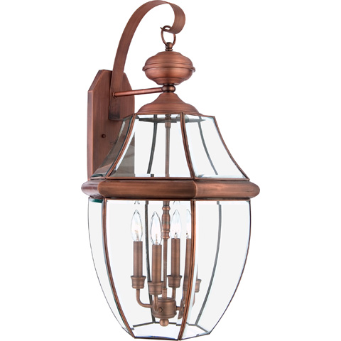 Quoizel - Newbury Outdoor Lantern - NY8339AC