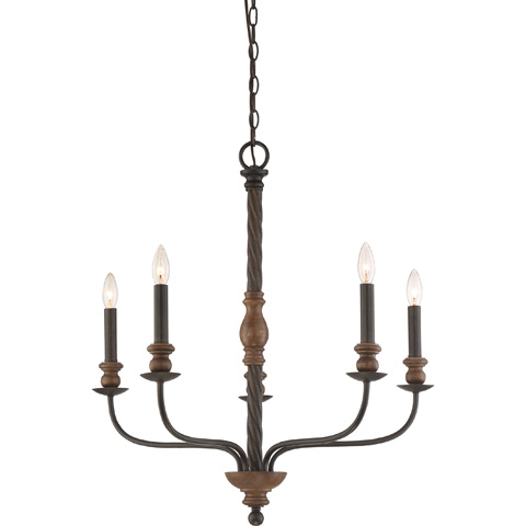 Quoizel - Odell Chandelier - ODL5005IB