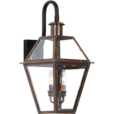 Quoizel - Rue De Royal Outdoor Lantern - RO8411AC