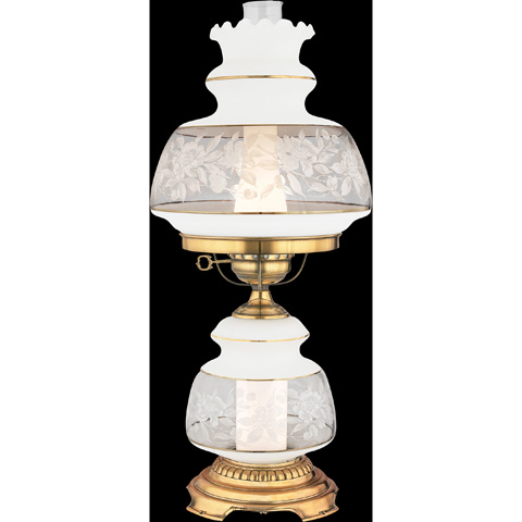 Quoizel - Satin Lace Table Lamp - SL702G