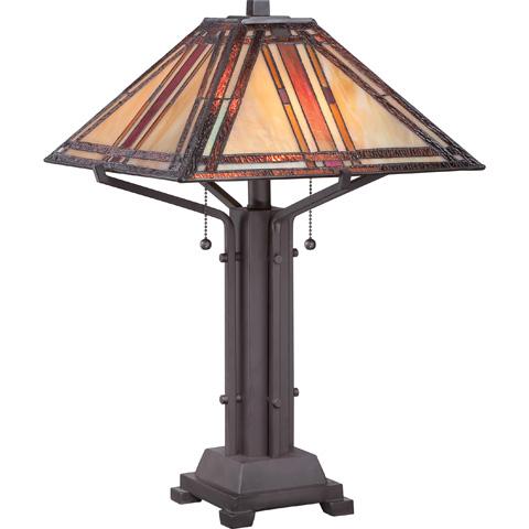 Quoizel - Tiffany Table Lamp - TF1672TWT