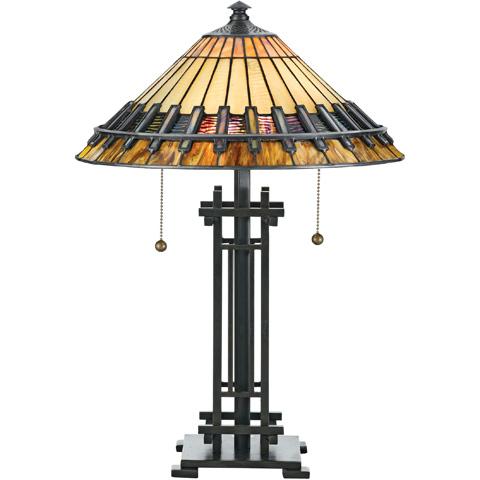 Quoizel - Tiffany Table Lamp - TF489T