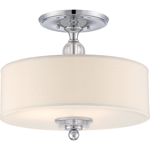 Image of Downtown Semi-Flush Mount Pendant