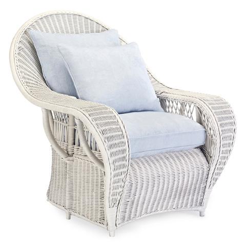 Ralph Lauren by EJ Victor - Conservatory Garden Wicker Lounge Chair - 016-03